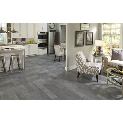 Adura Meridian Glue Down Resilient 16 x 16 x 4mm Luxury Vinyl Tile in Steel