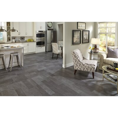 Adura Meridian Glue Down Resilient 16 x 16 x 4mm Luxury Vinyl Tile in Carbon