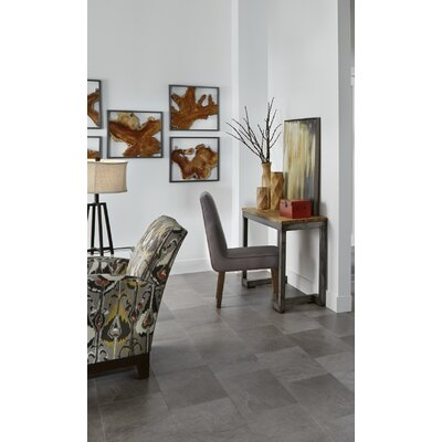 Adura Meridian Glue Down Resilient 12 x 24 x 4mm Luxury Vinyl Tile in Carbon