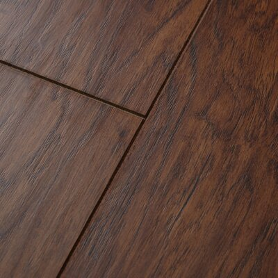 Revolutions 5 x 51 x 8mm Louisville Hickory Laminate Flooring in Nutmeg