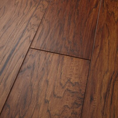 Revolutions 5'' x 51'' x 8mm Louisville Hickory Laminate Flooring in Spice