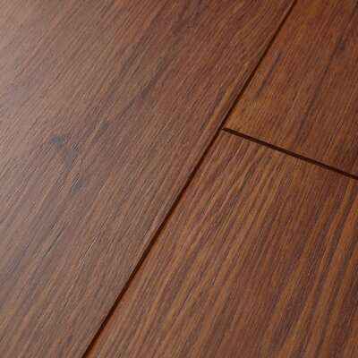 Revolutions� Plank 5 x 51 x 8mm Ontario Oak Laminate in Gunstock