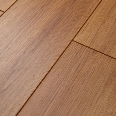 Revolutions 5'' x 51'' x 8mm Oak Laminate Flooring in Honeytone