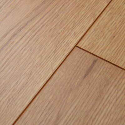 Revolutions 5'' x 51'' x 8mm Oak Laminate Flooring in Natural