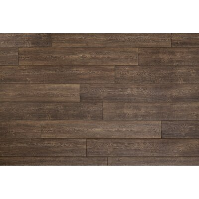 Restoration Wide Plank 8 x 51 x 12mm Oak Laminate Flooring in Caraway