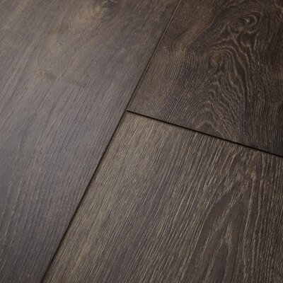 Restoration? Wide Plank 8 x 51 x 12mm Oak Laminate Flooring in Peppercorn
