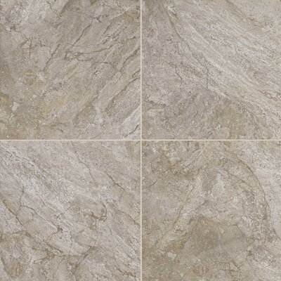 Adura Century Glue Down Resilient 16 x 16 x 4mm Luxury Vinyl Tile in Fossil