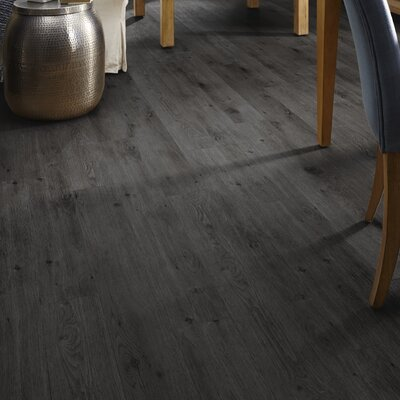 Adura Tribeca Glue Down Resilient 6 x 48 x 4mm Luxury Vinyl Plank in Asphalt