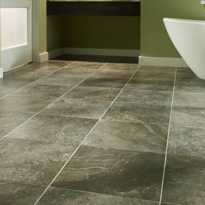 Adura Athena Glue Down Resilient 16 x 16 x 4mm Luxury Vinyl Tile in Grecian Gray
