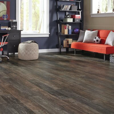 Adura Iron Hill Glue Down Resilient 6 x 48 x 4mm Luxury Vinyl Plank in Smoked Ash