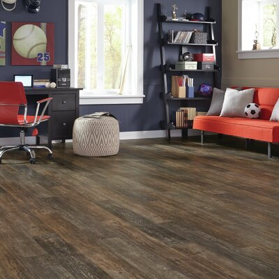 Adura Iron Hill Glue Down Resilient 6 x 48 x 4mm Luxury Vinyl Plank in Coal