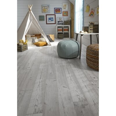Restoration 6 x 51 x 12mm Seaview Pine Laminate Flooring  in Cloud