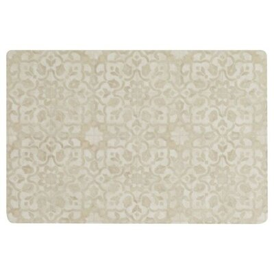 Ceres Vinyl Brass Area Rug Rug Size: Rectangle 2 x 3