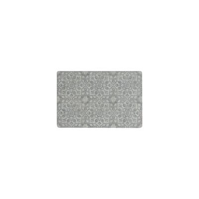 Ceres Vinyl Pewter Area Rug Rug Size: Rectangle 2 x 3