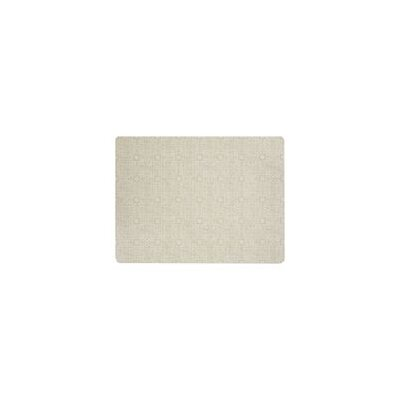Ceres Vinyl Brass Area Rug Rug Size: Rectangle 6 x 8