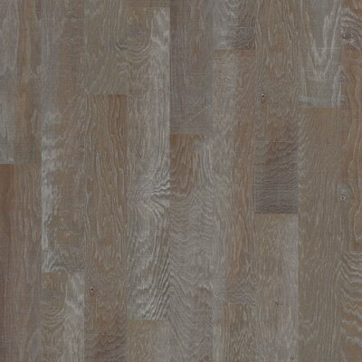 Hillsboro Random Width Engineered Hickory Hardwood Flooring in Garden Gate