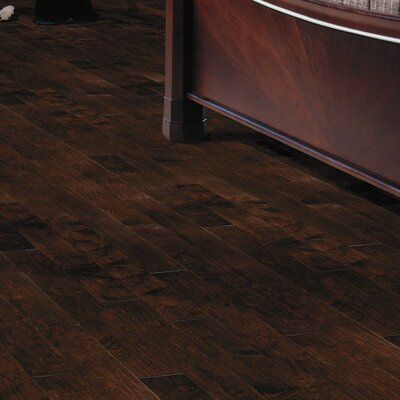 Lansing Maple 5 Engineered Maple Hardwood Flooring in Dark