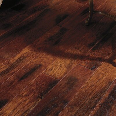 Lansing Hickory 5 Engineered Hickory Hardwood Flooring in Dark