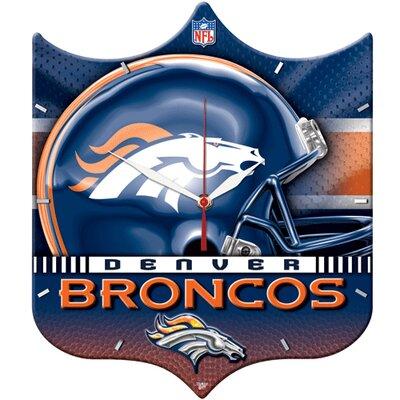 Wincraft NFL High Def Plaque Wall Clock - NFL Team: Denver Broncos at Sears.com