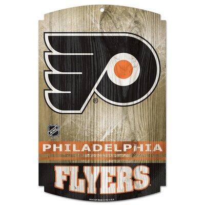 NHL Graphic Art Plaque NHL Team: Philadelphia Flyers