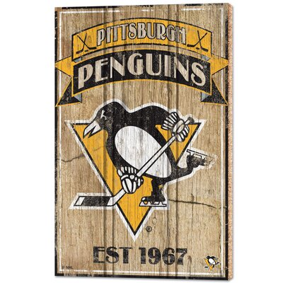 NHL 'Pittsburgh Penguins' Graphic Art 74315116
