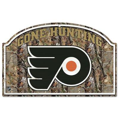 NHL Camoflage Graphic Art Plaque Team: Philadelphia Flyers