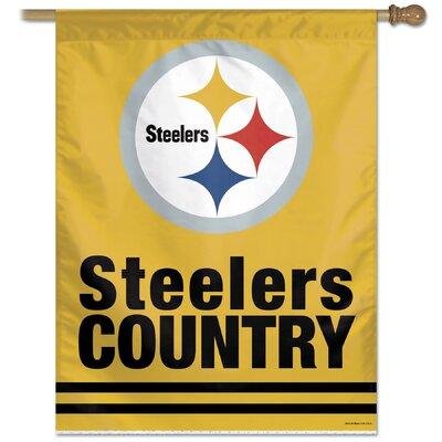 NFL Banner Flag NFL Team: Pittsburgh Steelers 69331010