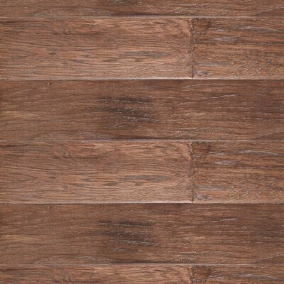 River Ranch 5 Engineered Hickory Hardwood Flooring in Tobacco