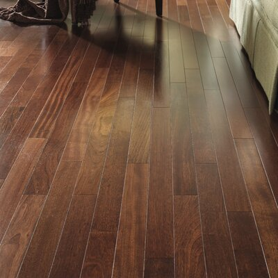 Kendall Exotics Random Width Engineered Brazilian Cherry Hardwood Flooring in Natural