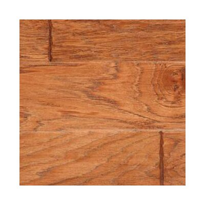 Gevaldo 5 Engineered Hickory Hardwood Flooring in Cider