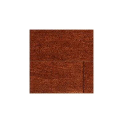 Kendall Random Width Engineered Maple Hardwood Flooring in Walnut