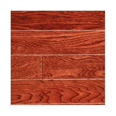 Gevaldo 3 Engineered White Oak Hardwood Flooring in Cherry