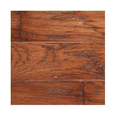 Gevaldo 5 Engineered Hickory Hardwood Flooring in Tobacco