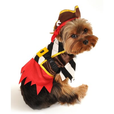 Rustic Pirate Dog Costume