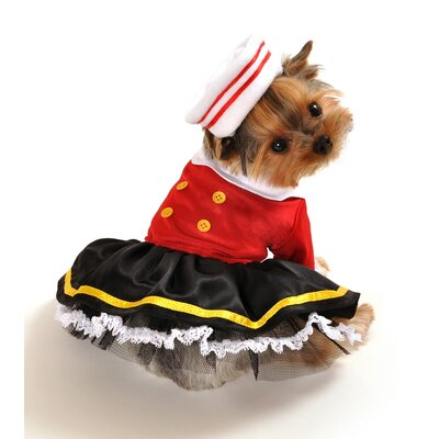 Sailorman's Girlfriend Dog Costume