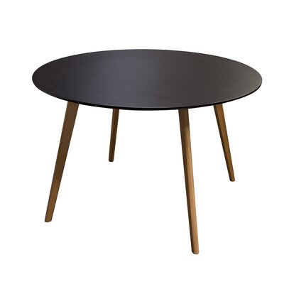 Retro Dining Table Top Finish Black