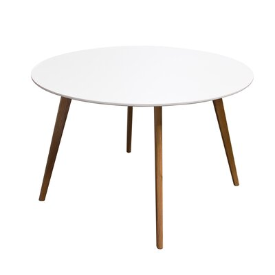 Retro Dining Table Top Finish White