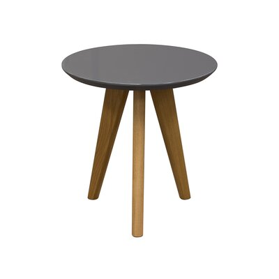 Retro End Table Finish: Grey