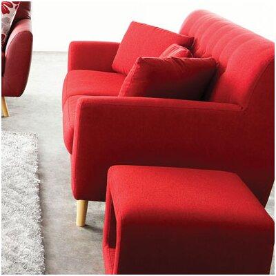 SCARLETTLORE DSF1605 Diamond Sofa Scarlett Solid Loveseat