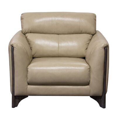 Monaco Club Chair Color: Tan
