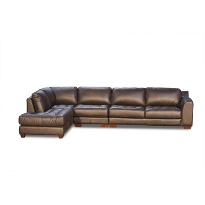 Diamond Sofa Zen Leather Armless Modular Sectional at Sears.com
