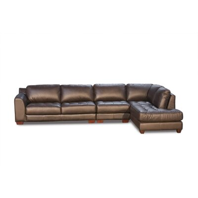 Diamond Sofa Zen Leather Modular Sectional at Sears.com