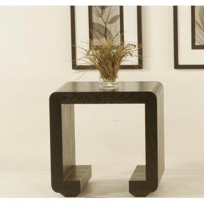 Cheap Diamond Sofa Low Profile Square End Table in Dark Walnut (DSF1173)