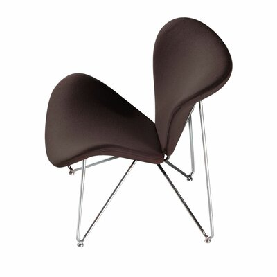 Lexi Lounge Chair Color: Chocolate