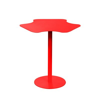 Peta End Table Color: Red