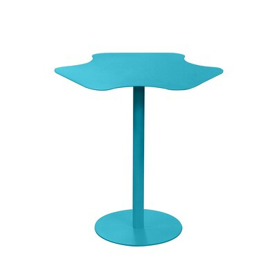 Peta End Table Color: Turquoise