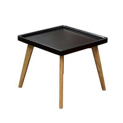 Caf� End Table Finish: Black