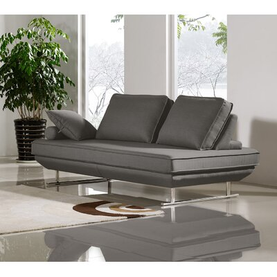 Dolce Sleeper Loveseat Color: Gray