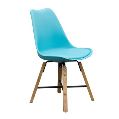 Coda Side Chair Upholstery: Tuquoise