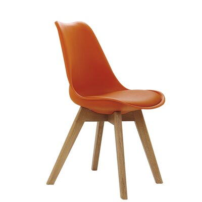 Coda Side Chair Upholstery: Orange